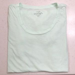 J Crew Mint Green Garment Dyed T, NWOT